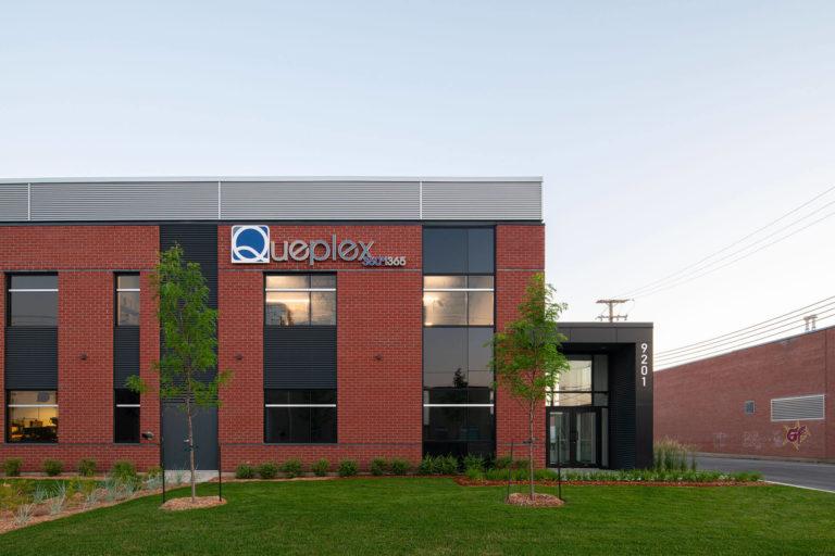 Syscomax / Bâtiment Queplex Nouvelle construction industrielle / New industrial building